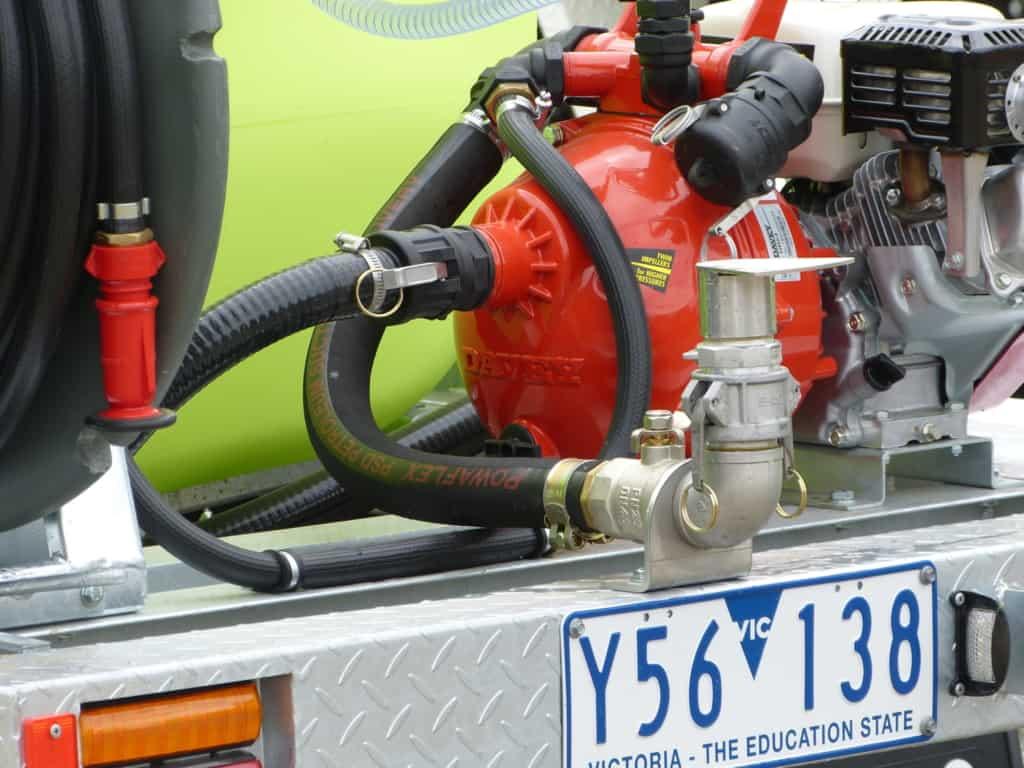 Deflector sprayer kit with Ball valve