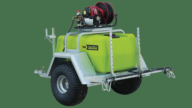 SpotPro™ Deluxe ATV Spray Trailer with Versatile Boom