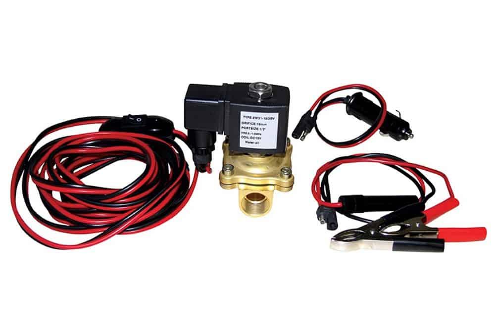 Solenoid valve kit 10 bar (140 psi) with