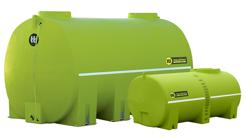 AquaTrans™ Water Cartage Tanks with 20-Year Warranty