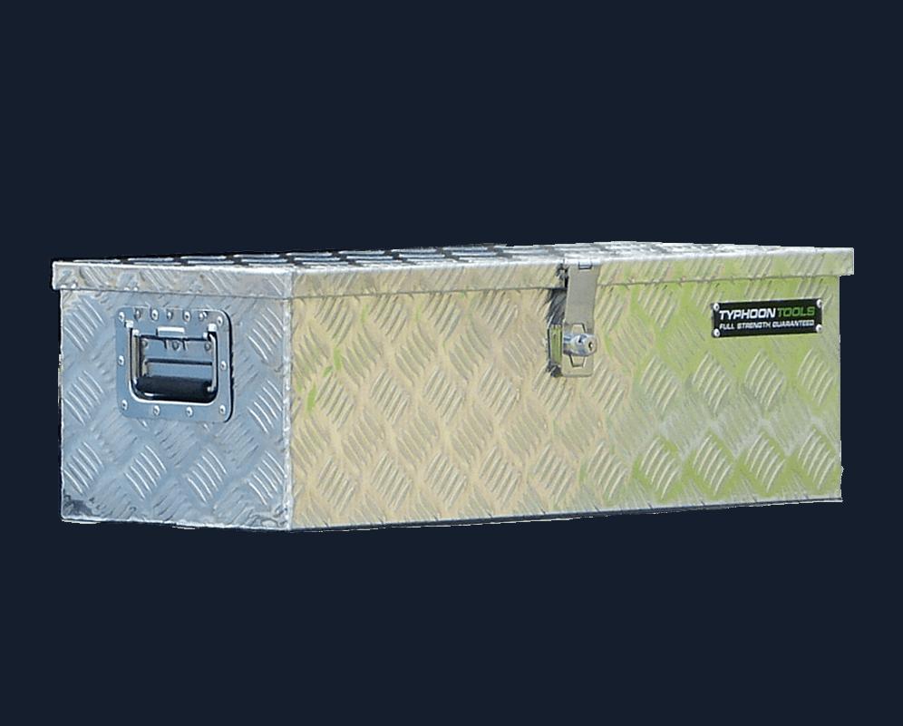 Aluminium toolbox small 760x320x240mm