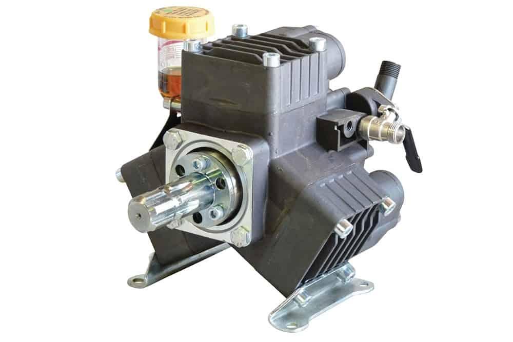 Bertolini PA530 pump with spline shaft