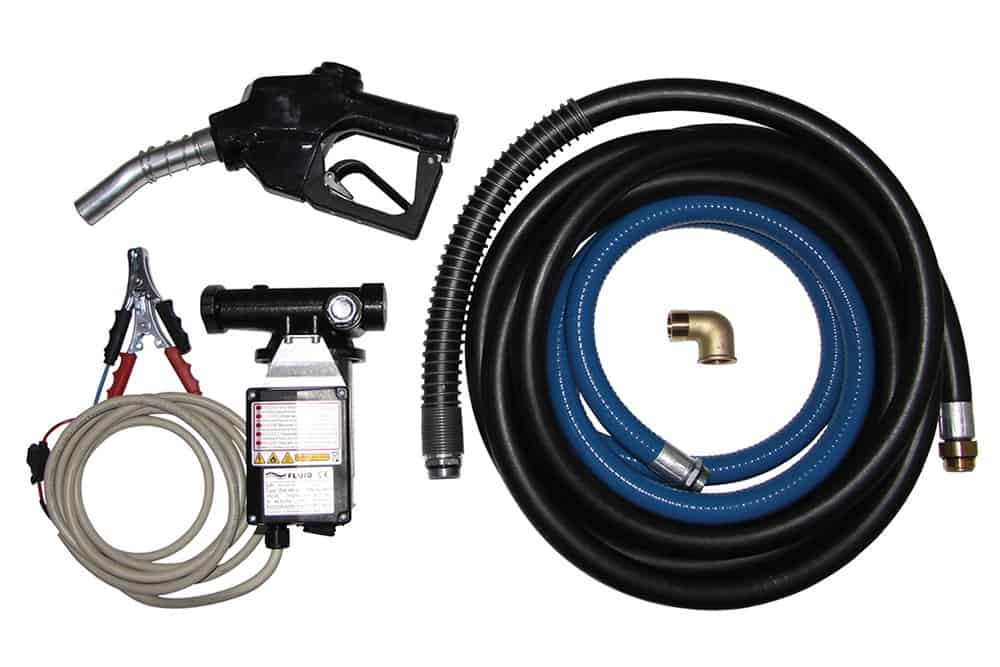 Pump - Diesel Fluid 24V 60L/m compl Kit