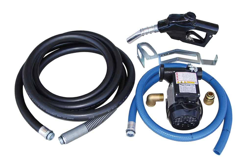 Fluid 60Lpm 240v Diesel Pump Kit