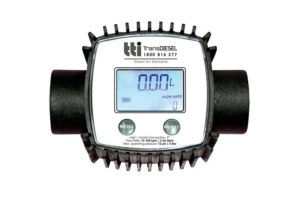 5 digit electronic flow meter (000.00 Li
