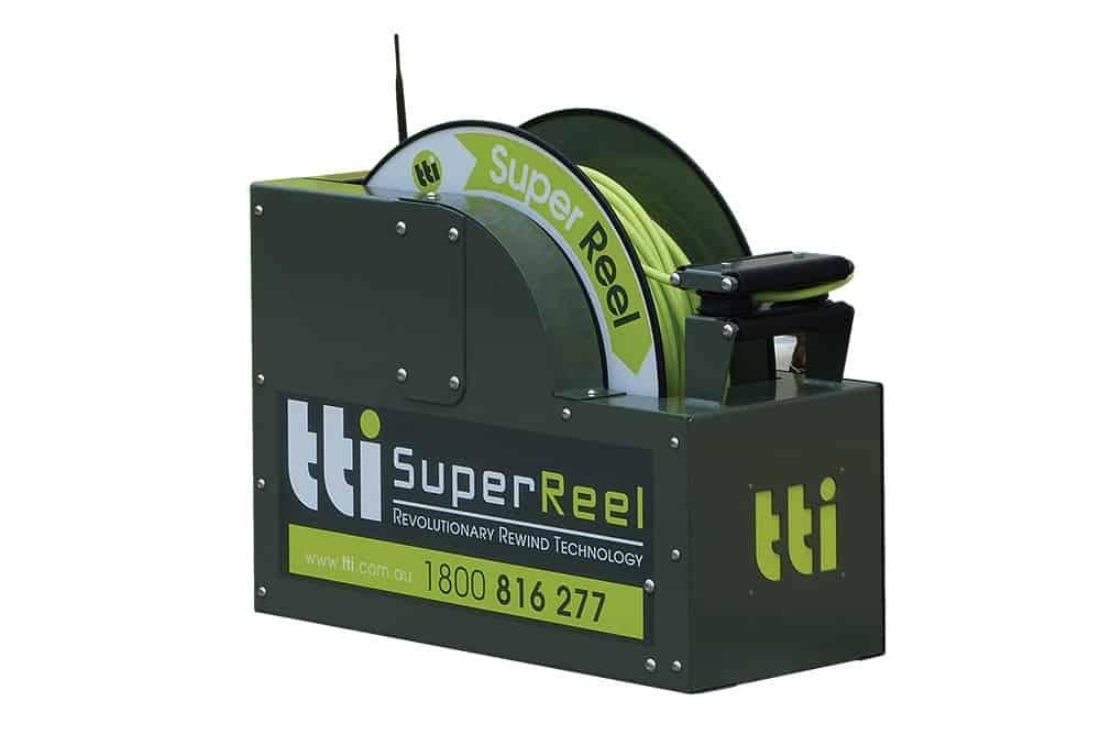 Superreel radio cntrl, 12v reel, 150mx10