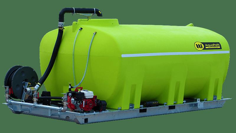 AquaPath™ Slip-On Water Carts with Honda GX200 and Davey Pump