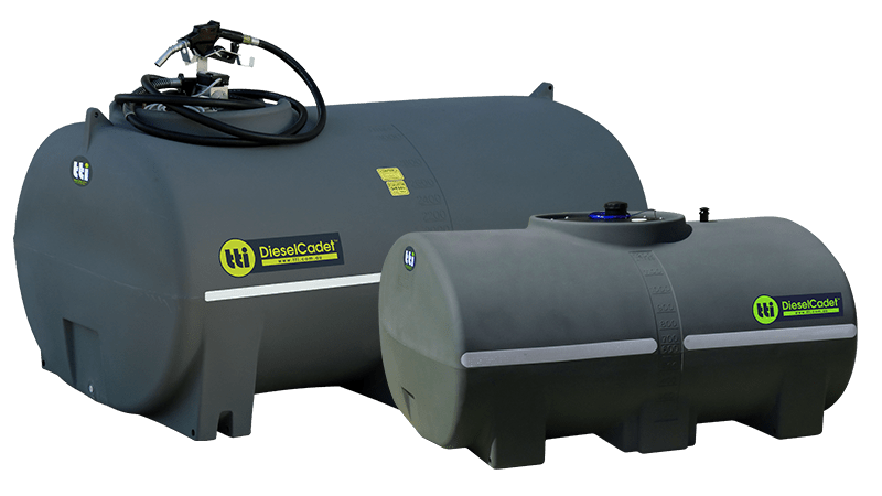 DieselCadet™ Free-Standing Diesel Tank with 15-Year Warranty