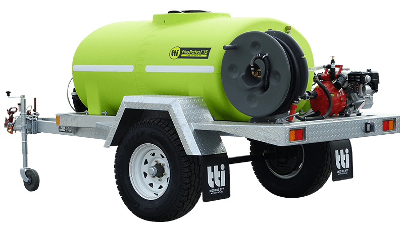 FirePatrol15™ Deluxe Fire Fighting Trailers