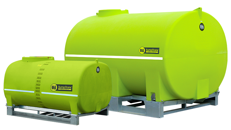 SumpTrans™ Chemical Tank with 20-Year Tank Warranty