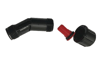 Inter Nozzle Elbow with Tee Jet Flat Fan 02