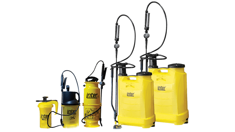 Inter Backpack & Compression Sprayers