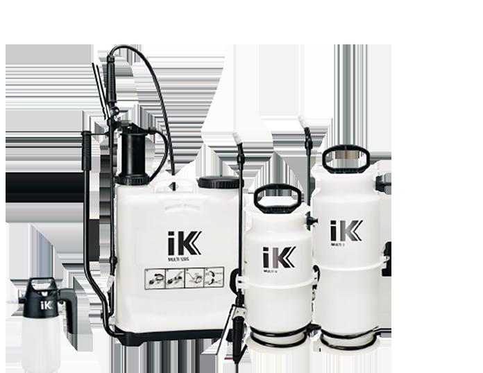 IK™ Industrial Backpack & Compression Sprayers